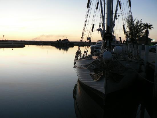Au port à Caicos