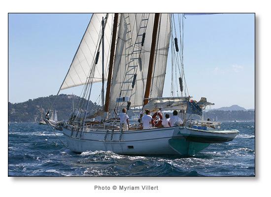 Participation à la Tall Ship Race en juillet 2007